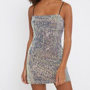 BNWT Urban Outfitters Sequin Mini Dress